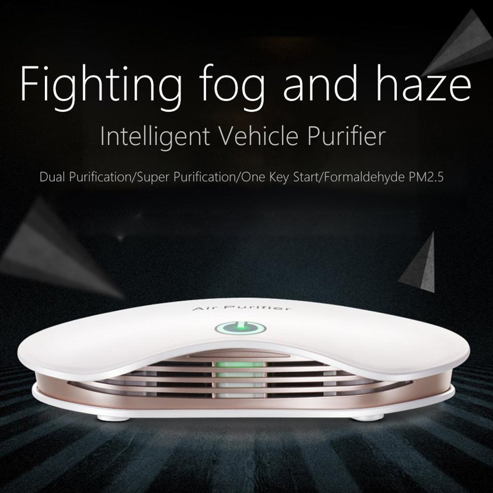 Solar Car Air Purifier Car Accessories Air Purifier In Addition To Formaldehyde Odor Haze Air Purifier