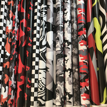 18 Kinds 7 Sizes Red Black Grey White Camo Vinyl Camouflage Car Wrap Car Styling Bike Computer Laptop Scooter Motorcycle Sticker