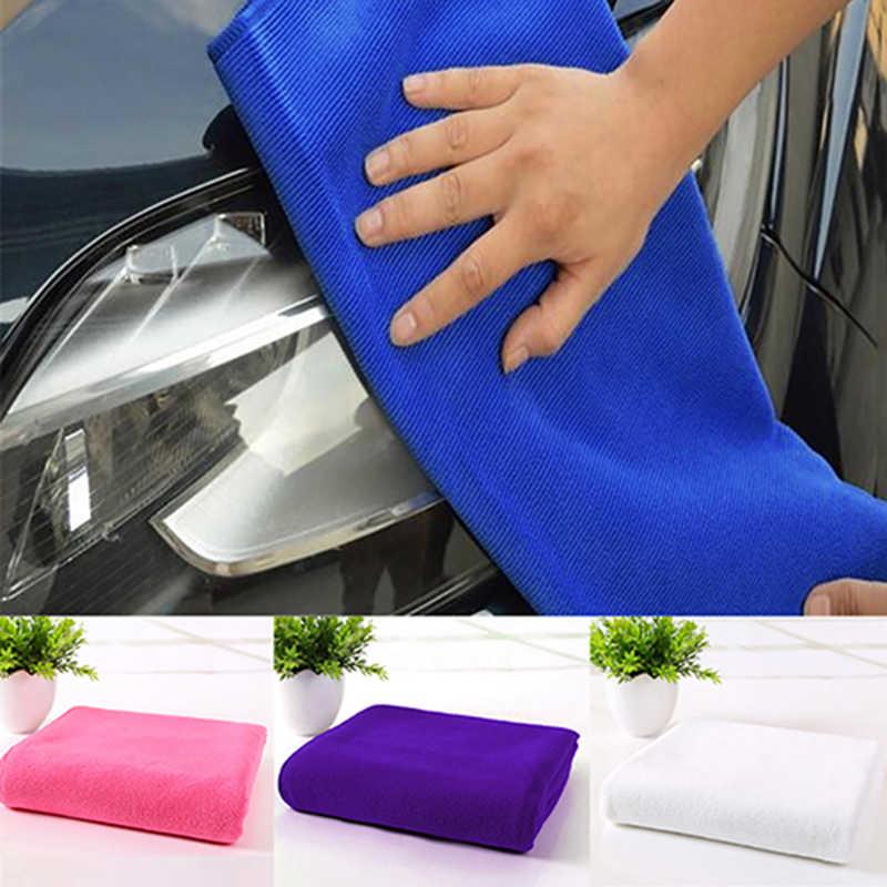 Toalla de microfibra para lavado de coches de 30x70CM, suministros de cocina, toalla de lavado y secado de coches para ducha de mano y cara