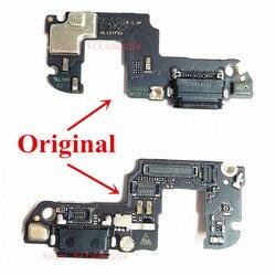 Oryginalny port ładowania portu USB Flex cable dla Huawei honor 9 STF/AL00/AL10 ładowarka wtyczka z mikrofonem wymiana