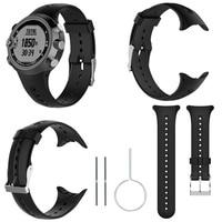 Per Garmin Swim cinturino di ricambio per cinturini in Silicone cinturino per Garmin Swim SmartWatch sport cinturino nero con strumenti