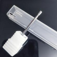 Pedicure-Tools Drills Burr Milling-Cutter Dental-Bits Electric Manicure Carbide Round