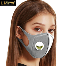 L.Mirror Pollution Mask Military Grade Anti Air Dust Smoke Pollution Mask with Adjustable Straps and Washable Respirator Masks