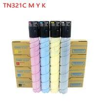 YFTONER printer toner for konica minolta tn321k black toner cartridge tn321c tn321y tn321m use in Bizhub C224 C284 C364