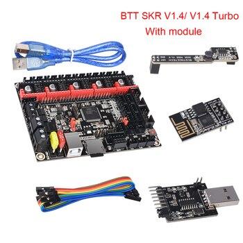 BIGTREETECH BTT SKR V1.4 32 Bit Board SKR V1.4 Turbo With DCDC Mode V1.0 WIFI BTT Writer Upgrade SKR V1.3 3d Printer Parts фото