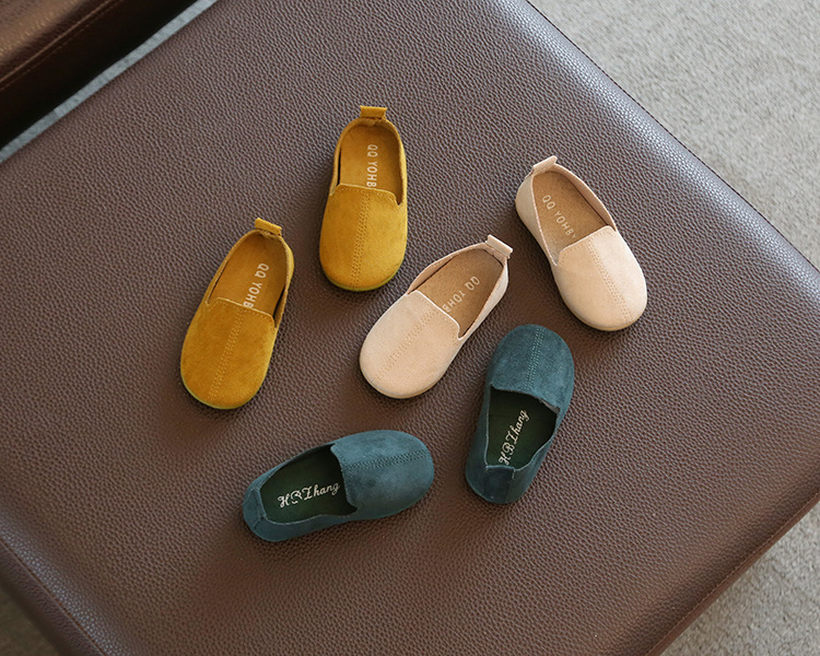 Spring Autumn Baby Girls Boys  Bean Shoes Toddler 4Colors 1-3Years 22-27 P01 TX08 5
