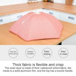Wielkoformatowa osłona siatkowa przykrywka do żywności namioty składane wielokrotnego użytku piknik na świeżym powietrzu żywności netto namiot parasol chroń swoje jedzenie w Uniwersalne pokrowce od Dom i ogród na