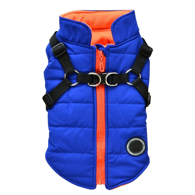 Dog Vest With Harness 10