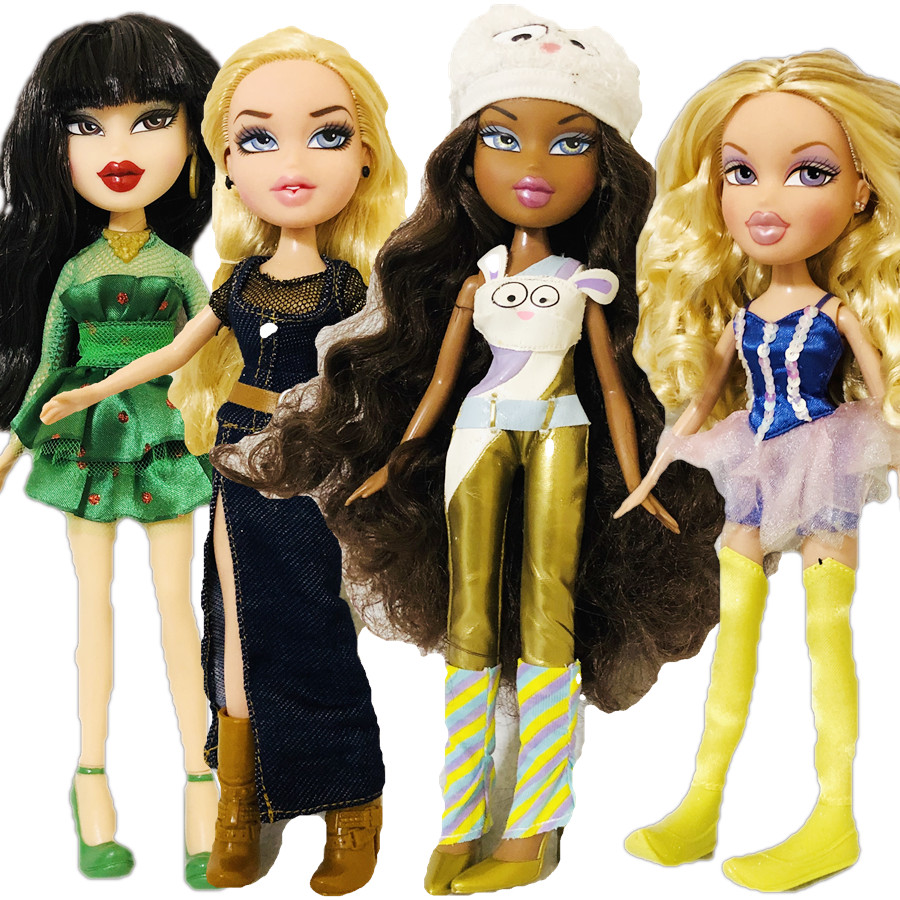 Special Original Cute Mgadoll Bratz Doll Big Red Lips Sexy Beautiful And Fashionable Girl Doll Best Gift For Child