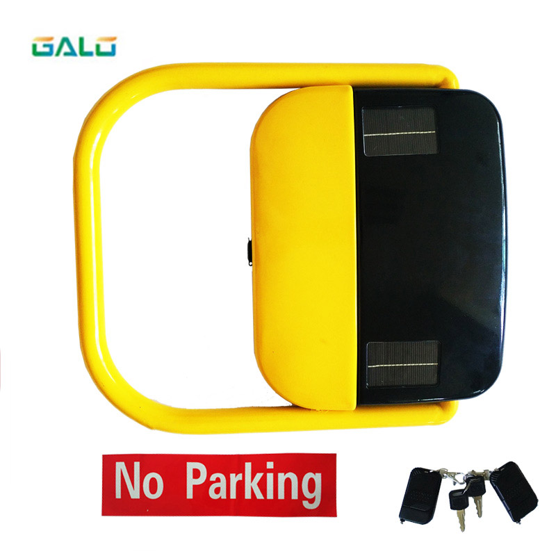 Automatic Remote Control Solar Power Parking Lock/solar Power Parking Barrier With 2 Remote Control