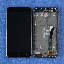 """5.2 """"Ban Đầu Axisinternat Dành Cho Asus Zenfone 3 ZE520KL ZA520KL Màn Hình LCD + Bảng Điều Khiển Cảm Ứng Bộ Số Hóa Khung Z017DB Z017D z017DA"""