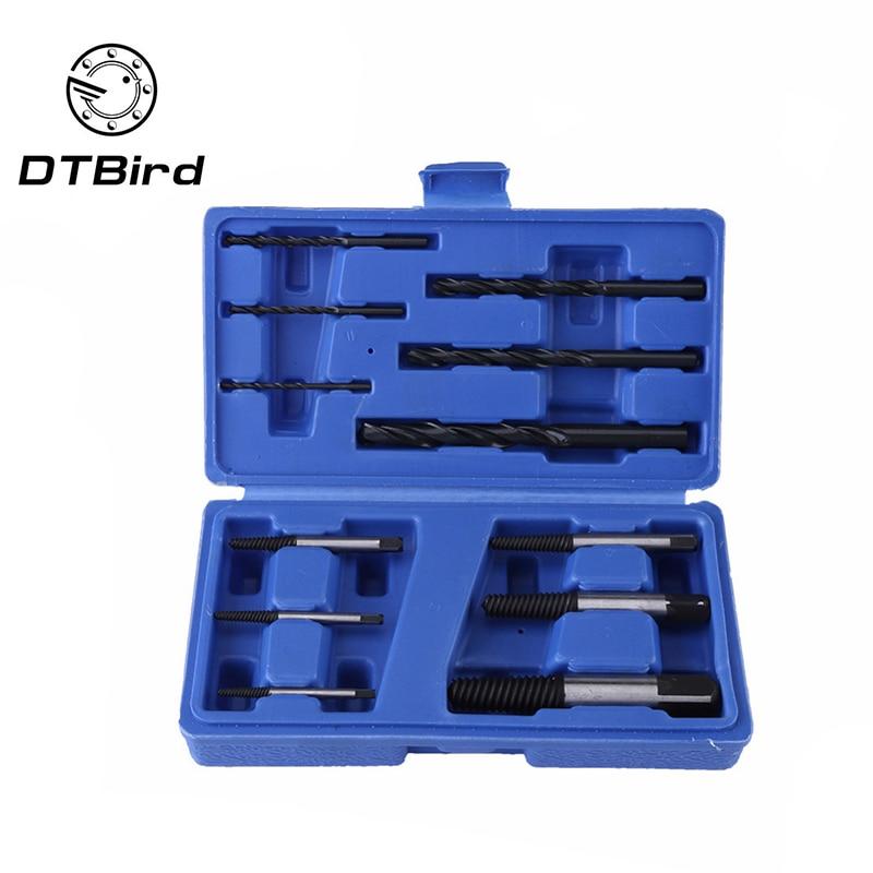 12pc Bearing Steel Metric Broken Head Screw Extractor In Blue Box (1-6 Extractor Plus 6 Matching Drills)