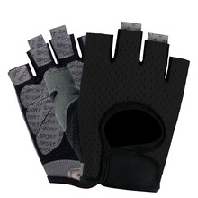 Fitness gloves half finger men and women dumbbell non-slip breathable weightlifting riding sports thin gloves high quality sports gym gloves wrist weights fitness men gloves half finger breathable anti skid silica women gloves