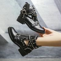 Ботинки с клепками Цена от 1233 руб. ($15.89) | 198 заказов Посмотреть