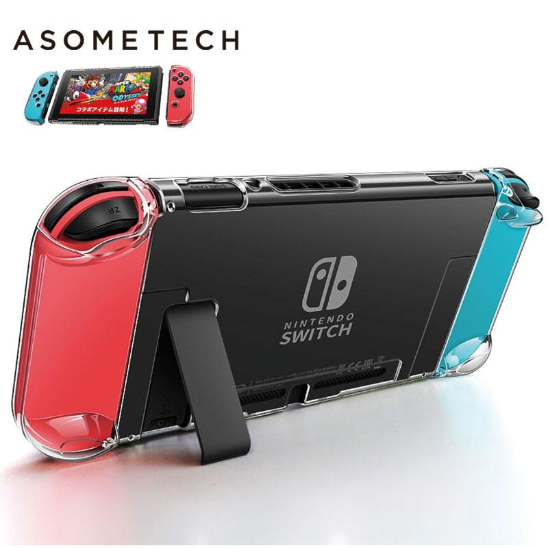 Afneembare kristal transparante hoes voor Nintendo Switch NS NX - Spellen en accessoires - Foto 1