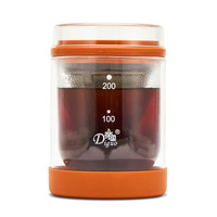 EMPERY Dg 5869 Household Double Layer Glass Cold Brew Coffee Pot Currently Available Hot And Cold Dual Use Coffee Pot Cold Brew
