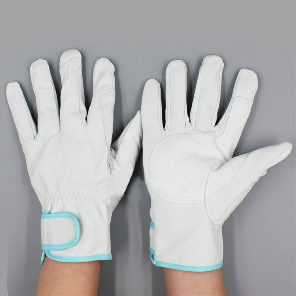 1 Pair Of Working Gloves Wear Resistant Electric Welding Soldering Safety Labor Protective Gloves Metal Industrial Gloves