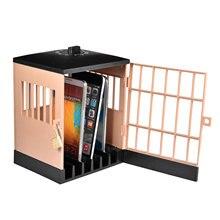 Caja fuerte para teléfono móvil, dispositivo para la oficina, Organizador de almacenamiento, Organizador de cosméticos