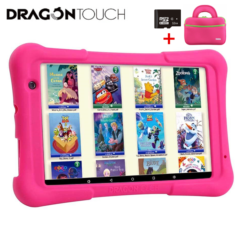 2019 Dragon Touch Y80 Kids Tablet 8 inch Android Tablet 16 GB Kidoz Pre-Installed Disney Content Tablets PC for children