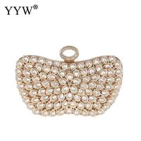 Rhinestone Pearl Evening Party Clutch Bag Ladies Luxury Wedding Finger Ring Clutch Purse Handle Handbag Elegant Bag Diamonds Sac