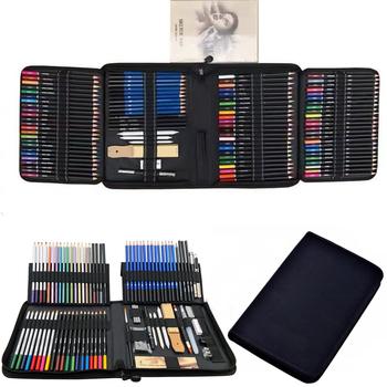 33 51 72 95 144 kolorowy ołówek i szkic ołówkiem zestaw do rysowania artystycznego zestaw narzędzi akwarela metaliczny olej ołówek artysta dostaw sztuki tanie i dobre opinie CN (pochodzenie) YW-SPN040-B01-144 6 lat