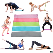 Elastic Gum Resistance Bands equipment Yoga Loop For Fitness Sports Rubber Training athletic elastic bands