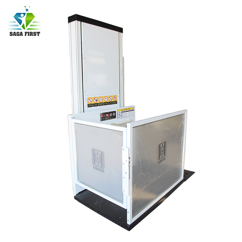 Electric Home Wheelchair Lift Elevator With CE ISO Certification