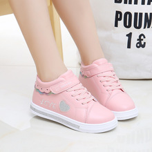 2020 New Children Shoes School PU Tennis Shoes Cute Princess Casual Shoes Children Running Sports Shoes Fashion Sequins Shoes cheap EFKGH Rubber COTTON Fits true to size take your normal size Hook Loop Bordered Breathable Mesh Unisex