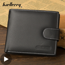 Short Small for Men Wallet Male Purse Card Coin Holder Money