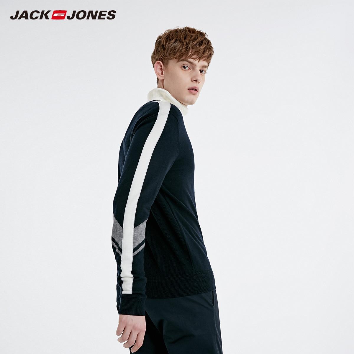 Jack Jones New spring men's casual long sleeve sweater   219125501