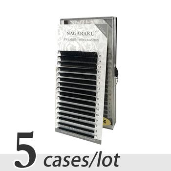 NAGARAKU 5 tacek 7 ~ 15mm mix premium natural mink indywidualne rzęsy rosyjskie grube sztuczne rzęsy wszystkie rozmiary sztuczne rzęsy tanie i dobre opinie COMBO Wydłużanie rzęs CN (pochodzenie) Włosy syntetyczne 1 cm-1 5 cm Inne J B C D Pojedyncze rzęsy Naturalnie długie