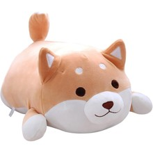 Shiba Inu Dog Plush Pillow, Cute Corgi Akita Stuffed Animals Doll Toy Gifts for Valentine's Gift, Christmas,Sofa Chair(China)