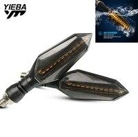 بدوره إشارة المتعري مصباح تحذير للماء لهوندا VFR800 CBR125R CB190 XADV750 XL600LMF VT1100 دراجة نارية أضواء الإشارة Led -