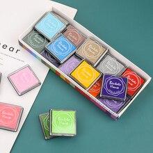 20 Pcs Multi-Gekleurde Giant Inkt Pads Stempel Pads Stempelkussen Handgemaakte Diy Craft Voor Diy Craft Scrapbooking