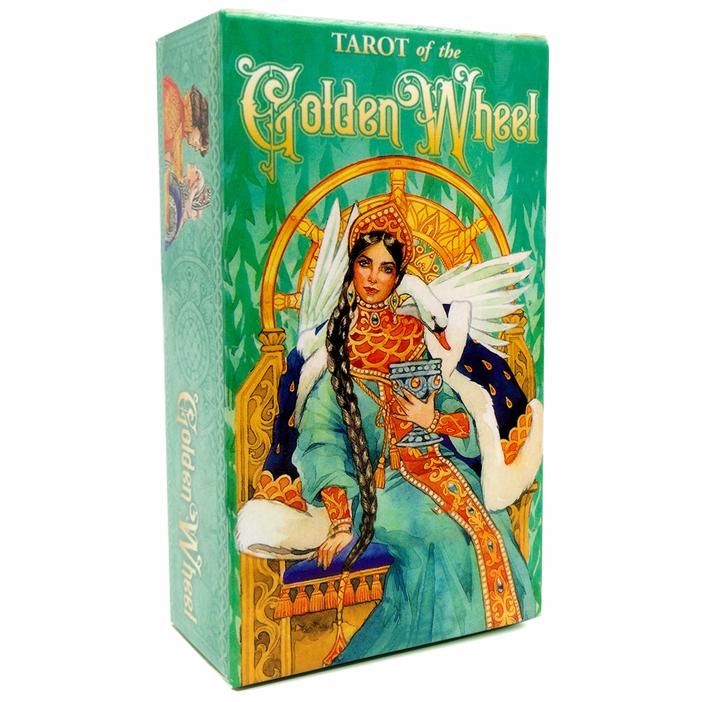Tarot of the Golden Wheel 78 Cards Deck Russian Edition Inspired by Fairy Tales Mila Losenko Aeclectic Crisp Divination Game image