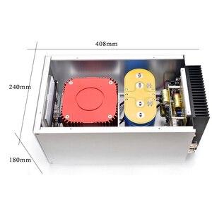 Image 3 - 400W 400VA * 2 Hifi Hi End Class Aเครื่องขยายเสียงHome Audio System 1CHหรือ2CHแยกdual Mono Pureโพสต์AMP 408*240*180มม.