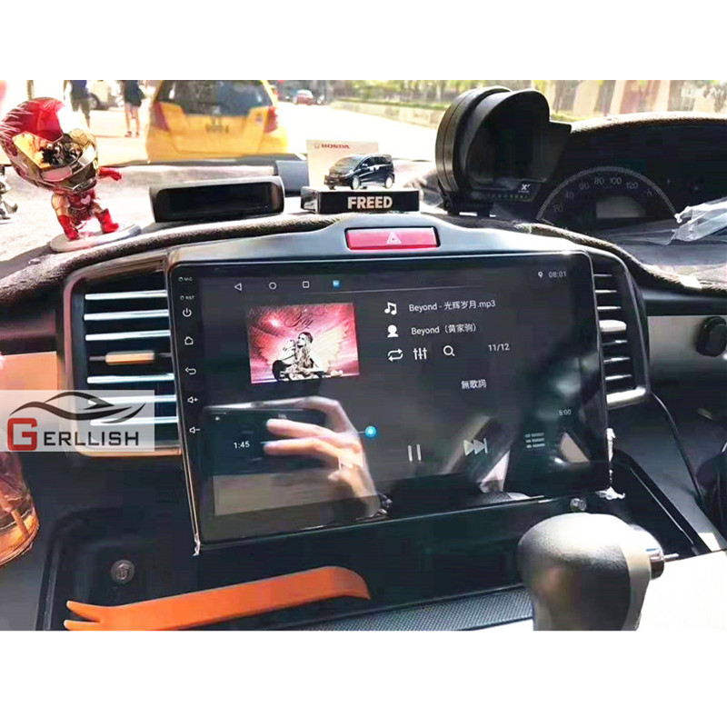 Android Car Multimedia Player For Honda Released GPS Navigation IPS Screen Mirror Link Auto Radio BT WiFi For Honda Freed