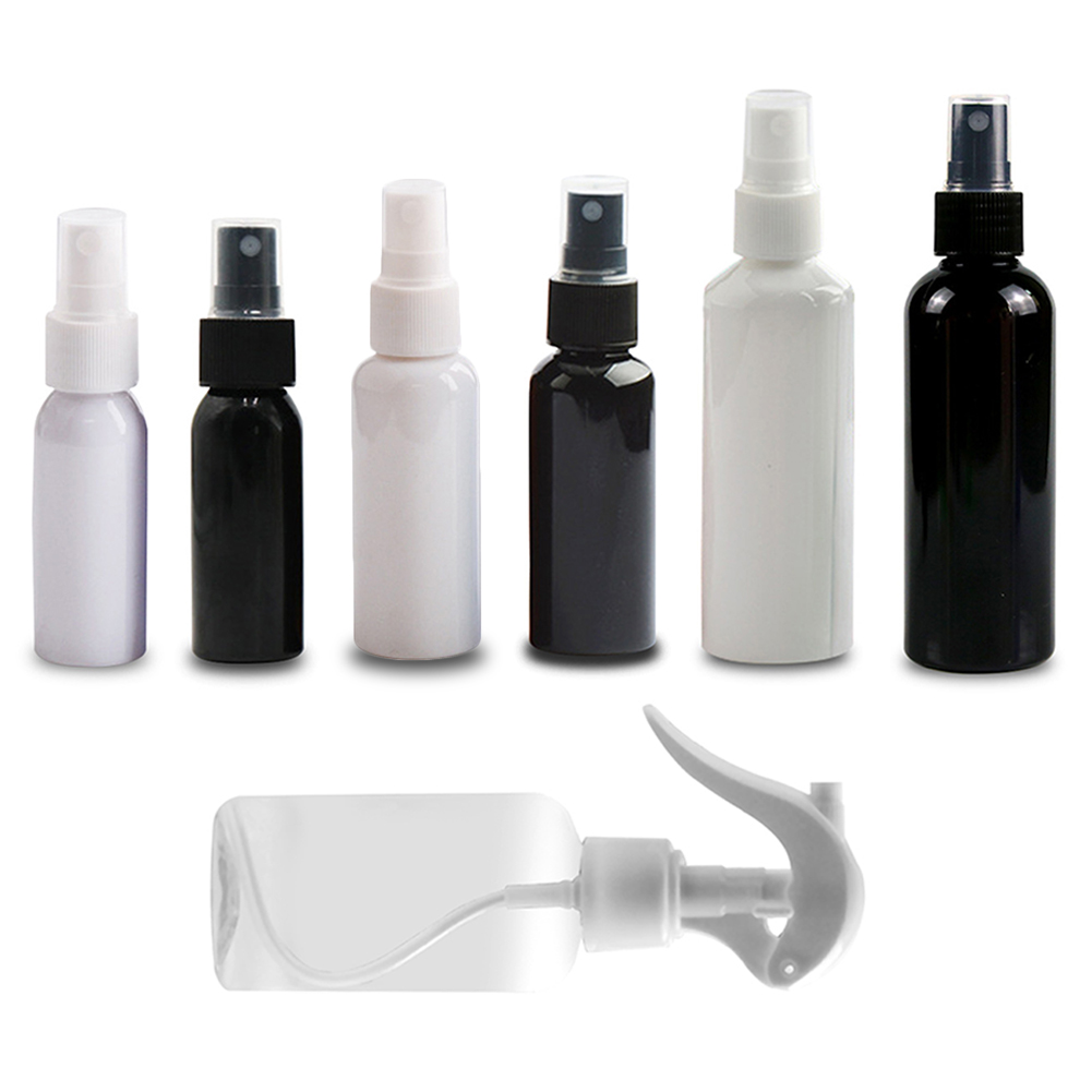 30ml 50ml 100ml Disinfection Spray Bottle Water Alcohol Pump High Pressure Continuous Can Cosmetic Bottle For Cleaning Supplies
