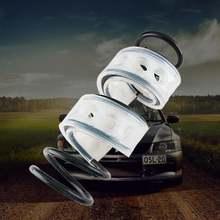 Автомобильный буфер подушка для бампера автомобильные пружины