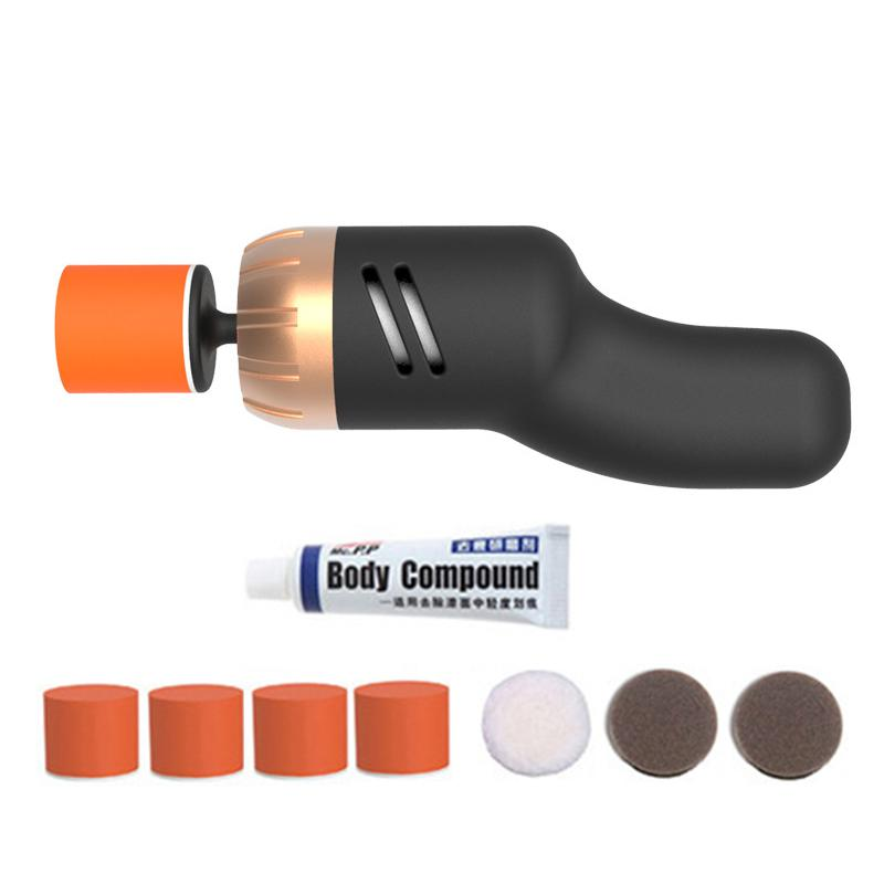 Mini Car Polisher 60W Variable Speed 6000 12V Car Paint Care Tool Auto Polishing Scratch Removal Machine Paint Care
