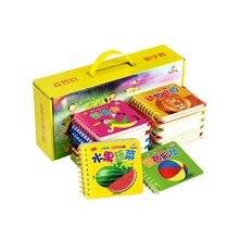 10 livros educação precoce bebê pré-escolar aprendizagem cartões de caracteres chineses com livro de imagens pinyin inglês libros livres