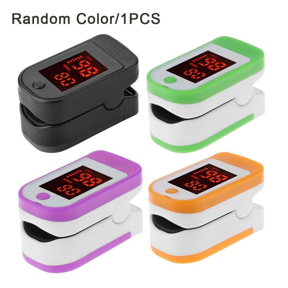 New Pulse Oximeter Finger Pulse Oxymeter Digital Oxygen Meter Clip Type Spo2 Pr Sensor Oled Display Fingertip Pulse Oximeters