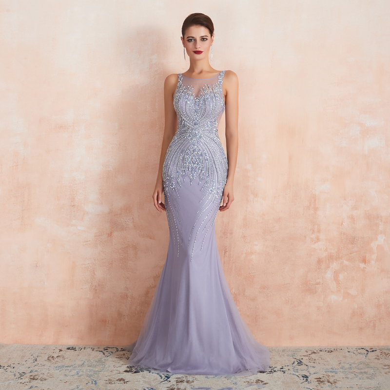 Evening   Luxury   Dress   Long Formal   Dress   Women Elegant Mermaid   Dresses   Beaded Occasion   Dresses   For Women Engagement   Dresses   Party