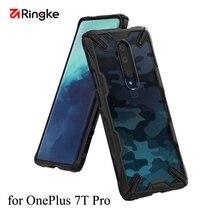 Ringke Fusion X สำหรับ OnePlus 7T Pro กรณี CLEAR PC Back และ Soft TPU กรอบ HYBRID Heavy Duty Protection ฝาครอบ