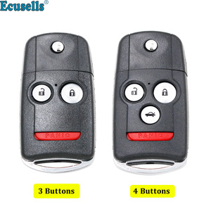 3+1 Buttons or 2+1 Buttons Remote Key Shell Housing Case Fob for Acura RDX MDX with Button Pad