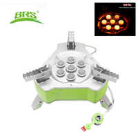 BRS Portable Folding gas Stove Outdoor Camping Stove Travel Picnic 9800W Gas Burner Butane Gas Stove Windproof Stove BRS-71