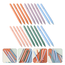 20pcs Candy Color Pens Creative Writing Pens Practical Stationery Supplies