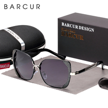 BARCUR Female Sunglasses Women Brand Designer Polarized Sunglasses Summer Lens Sun Glasses for Women Shades
