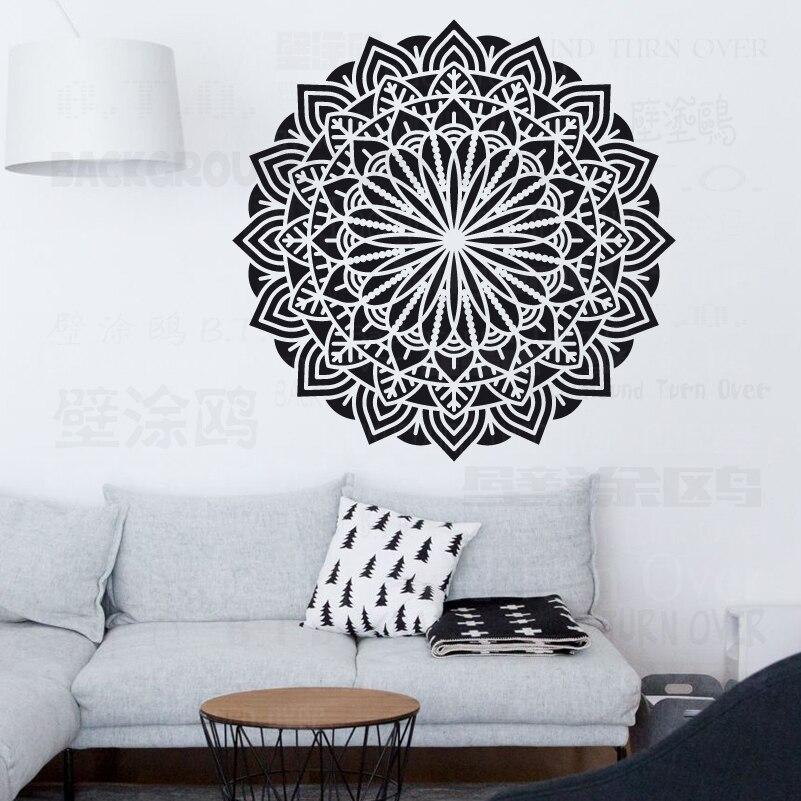 120cm 160cm Stencil For Walls Large Mandala Paint Big Stencils Decoration Frames Furniture Mandala Indian Arabic Ethnic S012 Aliexpress