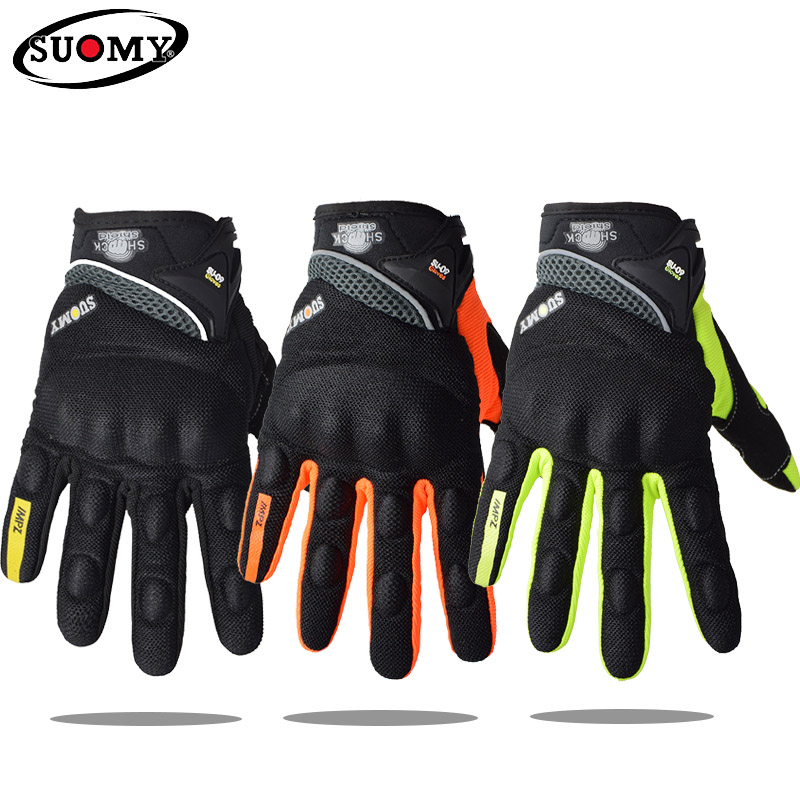 SUOMY Motorrad Handschuhe Touchscreen Guantes Moto Handschuhe Motocross Sommer Atmungs <font><b>Biker</b></font> Reiten Motorrad Handschuhe Motorrad MX image